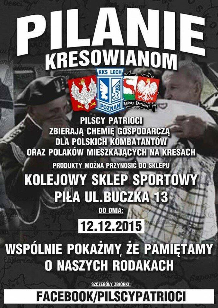 Pilanie Kresowianom plakat