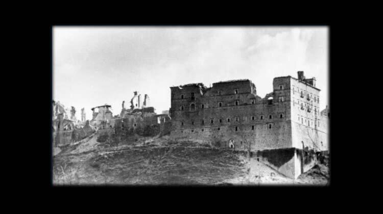 Skandal na Monte Cassino!