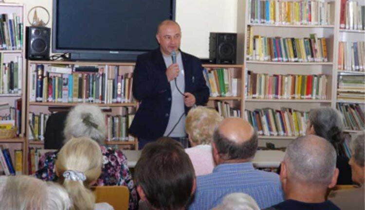 Tadeusz Płużański w Melbourne