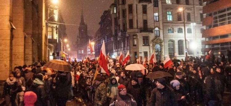Marsz Pamięci Żołnierzy Wyklętych Wrocław 2016 relacja