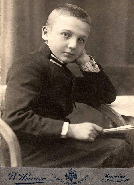 Henryk Dobrzański Szkoła Realna, Kraków 1909