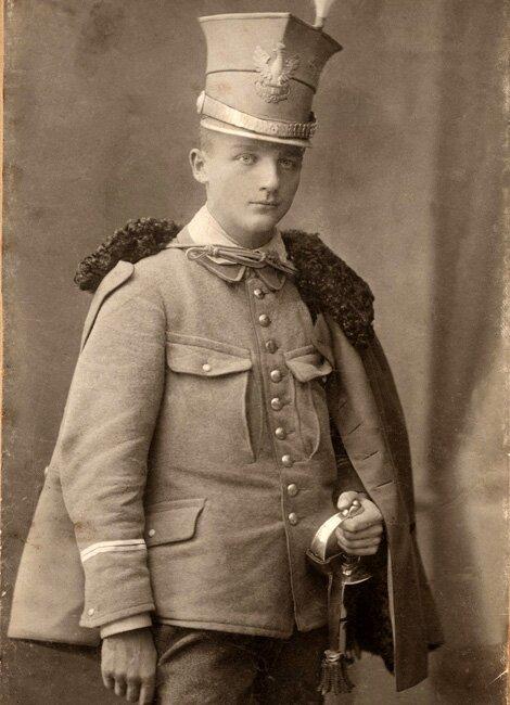 Henryk Dobrzański, Kraków 1915