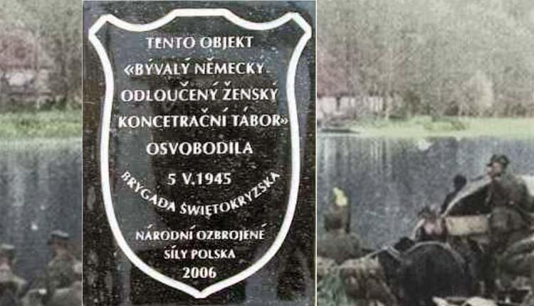 Obóz w Holiszowie – wyzwolenie